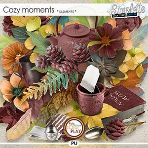 Cozy Moments (elements) by Simplette | Oscraps