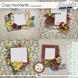 Cozy Moments (quick pages) by Simplette | Oscraps