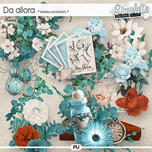 Da Allora (embellishments)
