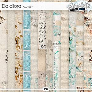 Da Allora (papers)