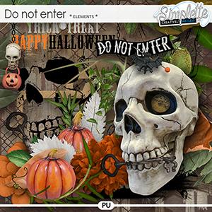 Do not Enter (elements)