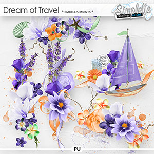 Dream of Travel (embellishments)