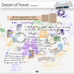 Dream of Travel (stamps)