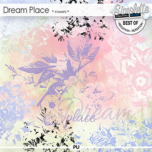 Dream Place (stamps) by Simplette