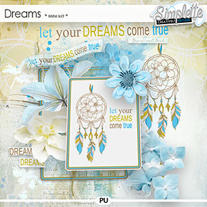 Dreams (mini kit) by Simplette