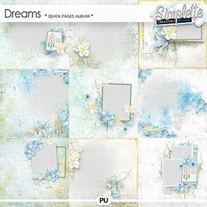 Dreams (quick pages album) by Simplette