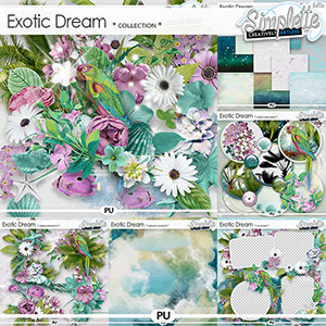 Exotic Dream (collection) by Simplette | Oscraps