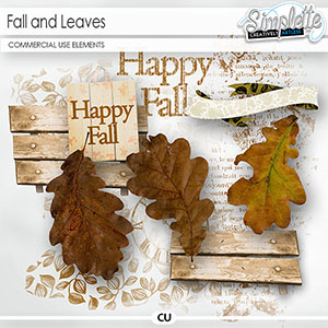 Fall and Leaves (CU elements)