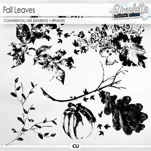 Fall Leaves (CU elements + brushes)