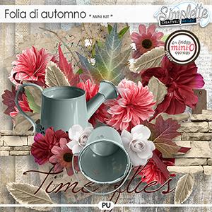 Folia di Automno (mini kit) by Simplette