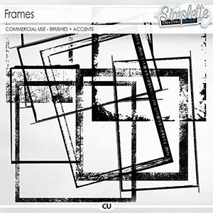 Frames (CU brushes + accents)