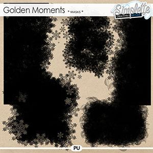 Golden Moments (masks) by Simplette