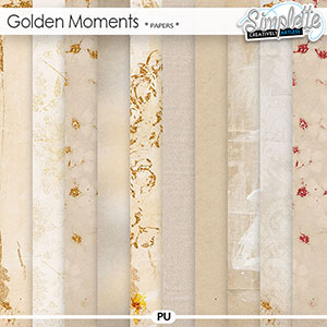 Golden Moments (papers) by Simplette