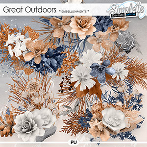 Great Outdoors (embellishments) by Simplette