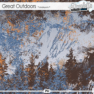 Great Outdoors (overlays) by Simplette