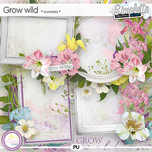 Grow wild (clusters) by Simplette