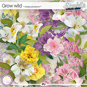 Grow wild (embellishments) by Simplette