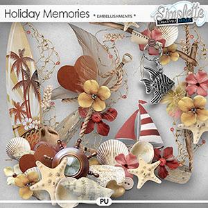 Holiday Memories (embellishments)