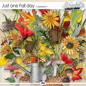 Just one Fall day (elements) by Simplette | Oscraps