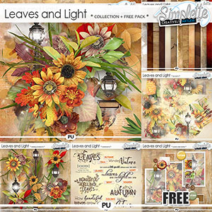 Leaves and Light (collection with free pack offered)