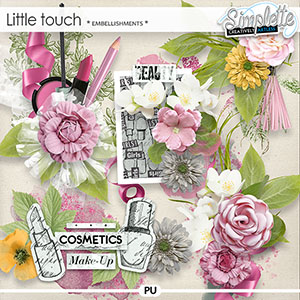 Little Touch (embellishments) by Simplette | Oscraps
