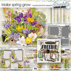 Make Spring grow (collection with FREE pack OFFERED) by Simplette