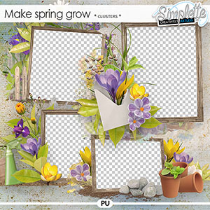Make Spring grow (clusters) by Simplette