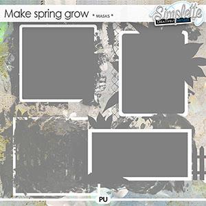 Make Spring grow (masks) by Simplette