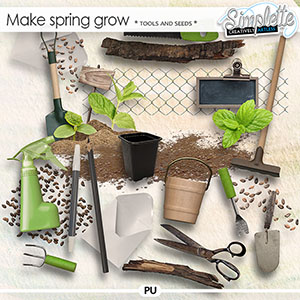 Make Spring grow (tools and seeds) by Simplette