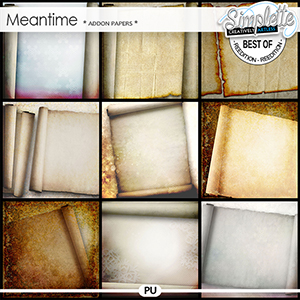 Meantime (addon papers) by Simplette