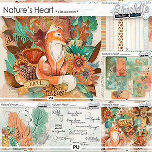 Nature's Heart (collection) by Simplette   Oscraps