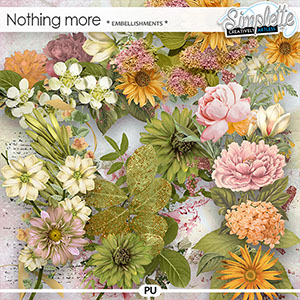 Nothing more (embellishments) by Simplette