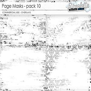 Page masks (CU) pack 10
