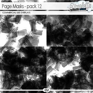 Page masks (CU) pack 12