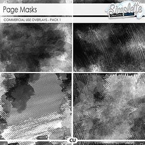 Page masks (CU) pack 1