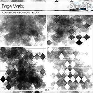 Page masks (CU) pack 4