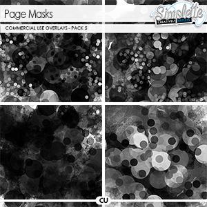 Page masks (CU) pack 5