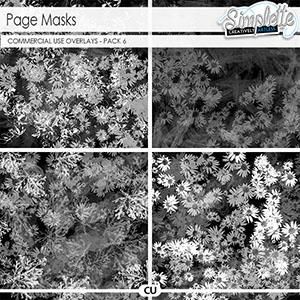 Page masks (CU) pack 6