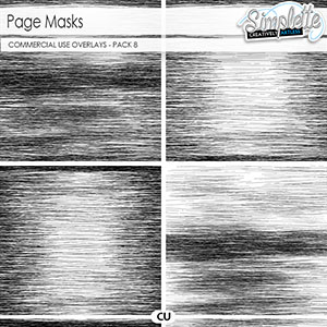 Page masks (CU) pack 8