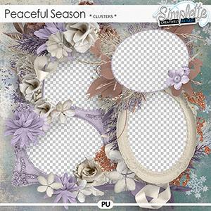 Peaceful Season (clusters) by Simplette