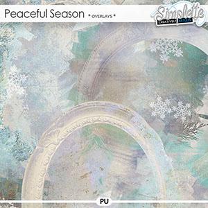 Peaceful Season (overlays) by Simplette