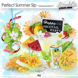 Perfect Summer Sip (embellishments)