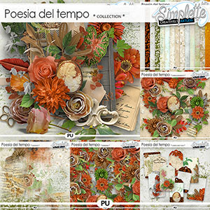 Poesia del tempo (collection) by Simplette | Oscraps