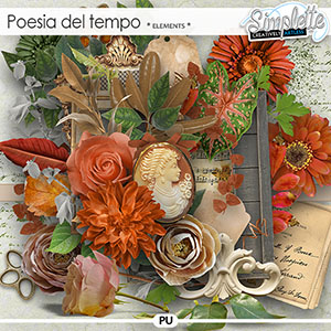 Poesia del tempo (elements) by Simplette   Oscraps