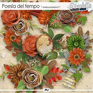 Poesia del tempo (embellishments) by Simplette | Oscraps