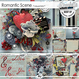 Romantic Scene (collection) by Simplette