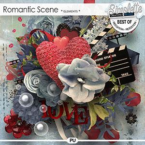 Romantic Scene (elements) by Simplette