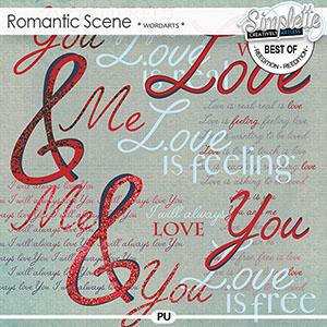 Romantic Scene (wordarts) by Simplette