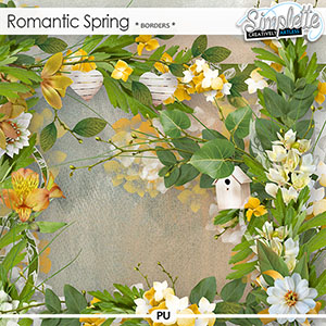 Romantic Spring (borders)