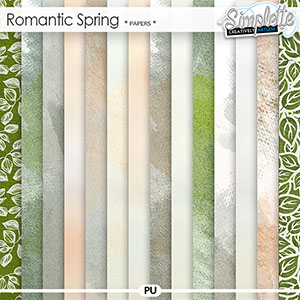 Romantic Spring (papers)